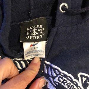 sailor jerry Jackets & Coats - Sailor Jerry Zip Up Hoodie